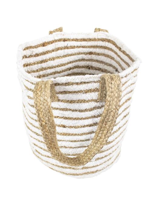 Produktbild: 0301016WS-1 Jute Baumwolle Tasche