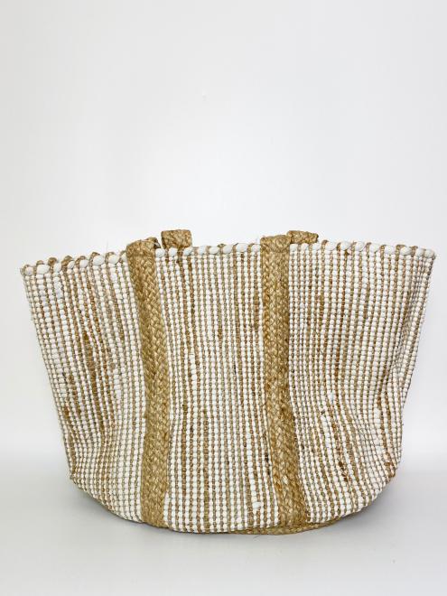 Produktbild: 0301018WS-1 Jute/Baumwolle Strandtasche
