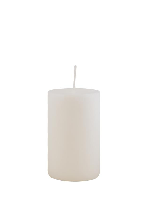 Produktbild: 0401028WS-1 Kerze - weiß